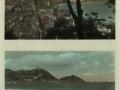 San Sebastián : vista desde el monte Urgull = vue depuis le mont Urgull ; San Sebastián : la playa, vista parcial = la plage, vue partielle