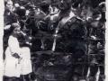 Desfile militar durante la Guerra Civil