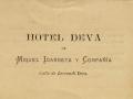 Deva : hotel Deva de Miguel Idarreta y Compañía, calle Lersundi