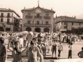 Actos festivos en la plaza de los Fueros