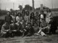 GRUPO DE PERSONAS EN EL RESTAURANTE ARANZABI DE AMASA EN VILLABONA. (Foto 3/7)