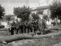 GRUPOS DE MILICIANOS CON SUS ARMAS EN LA LOCALIDAD DE ALEGIA. (Foto 1/10)