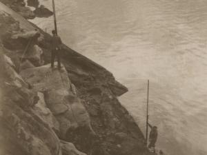 Costa de la entrada a la bahía de Pasaia