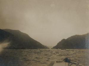 Bocana de entrada a la bahía de Pasaia