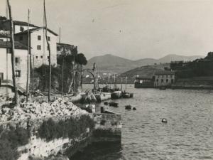 Entrada al puerto de Pasaia