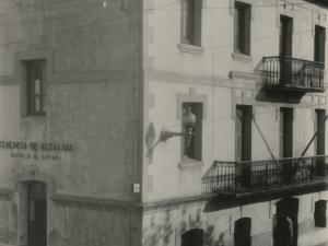 Tenencia de alcaldía de Pasai Antxo realizada desde la calle Zumalakarregi
