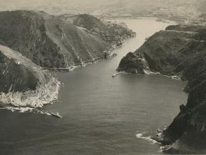 La bocana del puerto de Pasaia