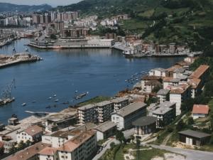 Puerto de Pasaia desde el monte Jaizkibel