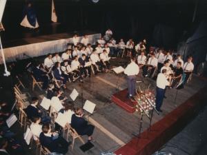 Fiesta celebrada, en la que la Orquesta de Pasaia ofrece su actuación