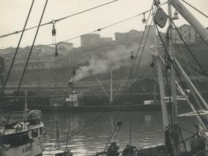 Barcos pesqueros en el puerto de Pasaia