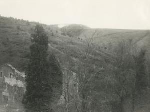 Escombrera cercana a la carretera de Lau-haizeta, vista desde Lau-Bide