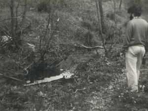 Aguas contaminadas procedentes del vertedero de San Marcos