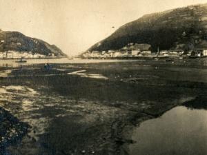 Bahía de Pasaia. Al fondo, Pasai San Pedro y Pasai Donibane