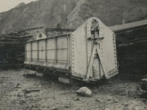 Vagón de tren en Pasaia