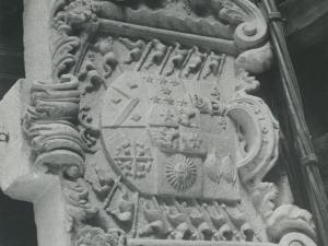 Armas de Blas de Lezo, en su casa natal, en Pasai San Pedro