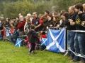 Ikusleak eta Eskoziako banderak