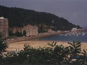 Vista de la zona de la playa