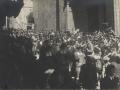 Festejos celebrados con motivo de las Fiestas Euskaras y Patronales : salida de la procesión