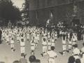 Festejos celebrados con motivo de las Fiestas Euskaras y Patronales : ejercicios de los niños del grupo escolar de la Marina