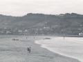 Playa de Hendaya y el Espigón