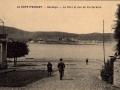 Hendaye : le port et vue de Fontarabie