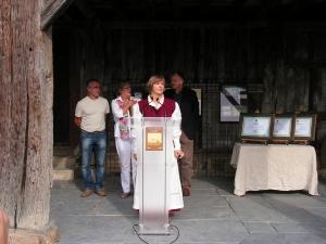 Inauguración de la  Semana de la Sidra  en el Caserío Museo Igartubeiti