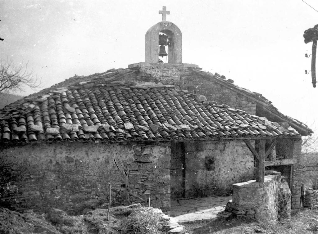"""Parteche. Anguiozar. Ermita de S. Vicente"""