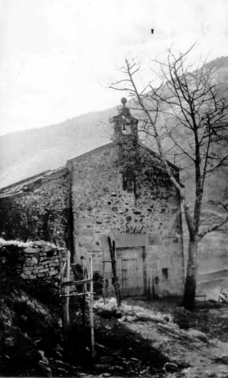 """Vergara. Ermita del caserio Elcoro-Barrutia de Vergara"""