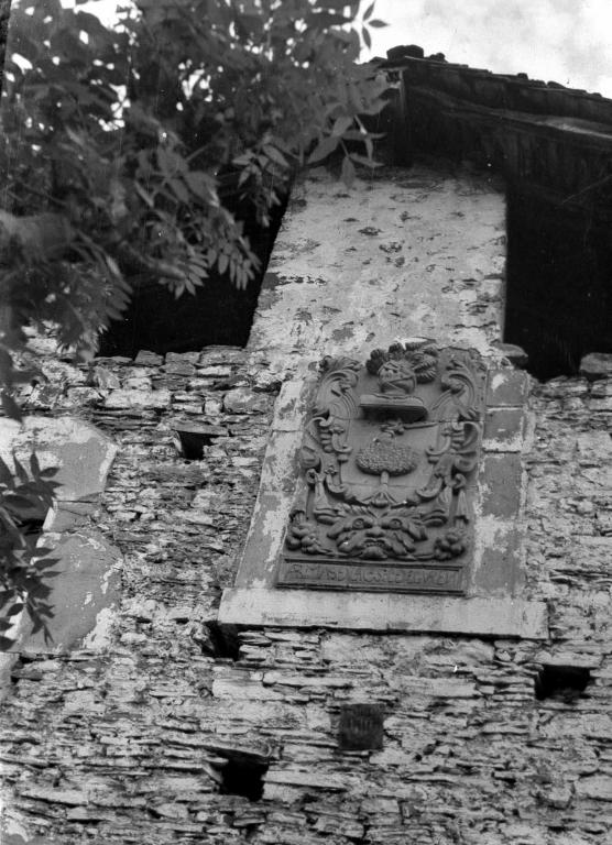 Basalgoko Eguren baserriko armarria (Bergara)
