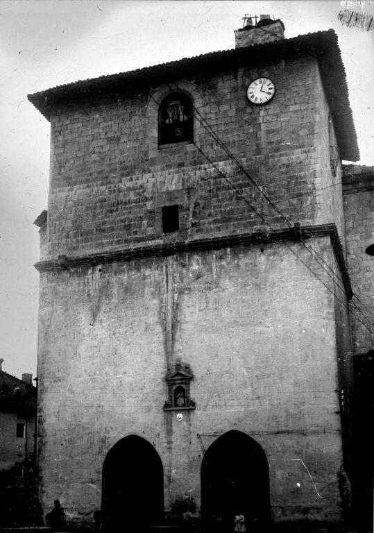 """""""Deva. Torre de la Iglesia Parroquial"""""""
