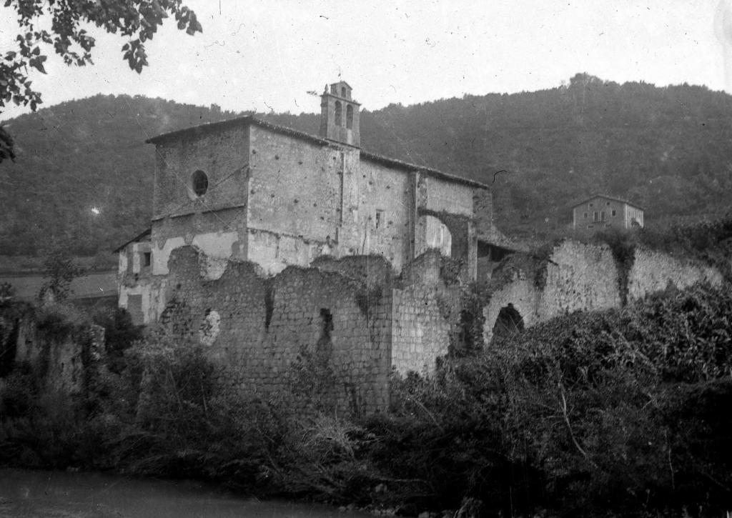"""""""Saciola (Deva). Ruinas del antiguo convento de Saciola"""""""
