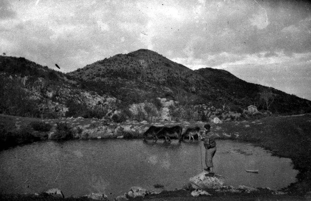 """""""Mendaro. Arno con el lago de Urmola"""""""