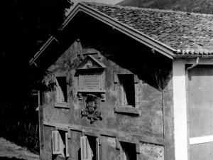 """""""Albiztur. Casa donde murió D. Valentin Olano el 27 de junio del año 1851"""""""
