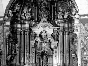 """Albistur. Altar mayor de la iglesia parroquial"""