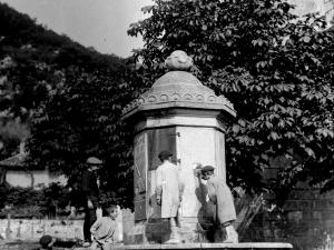 """""""Albistur. La Fuente de la plaza de Albistur"""""""