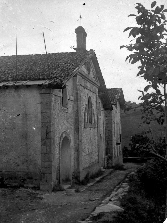 """""""Alegria de Oria. Ermita de S. Miguel barrio de Aldaba"""""""