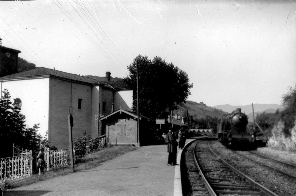 """""""Alegria (Guipuzcua). Estacion del Ferrocarril"""""""