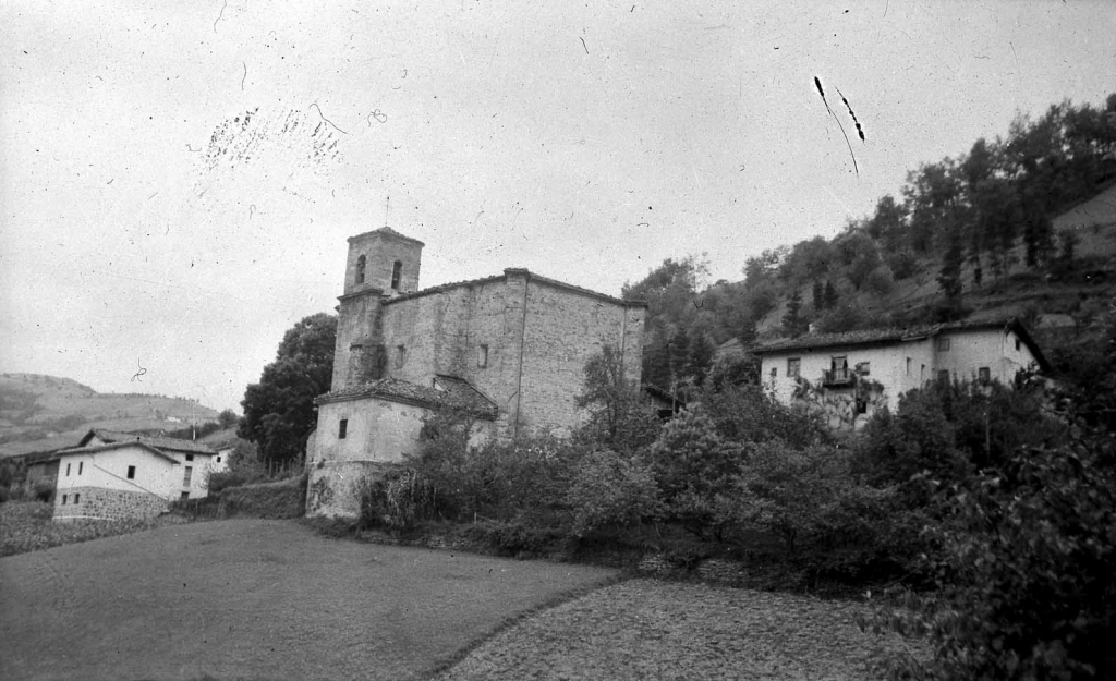 """""""Alzaga. Iglesia Parroquial"""""""