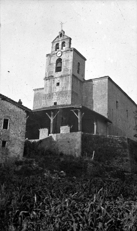 """""""Amezqueta. Torre de la Iglesia Parroquial"""""""