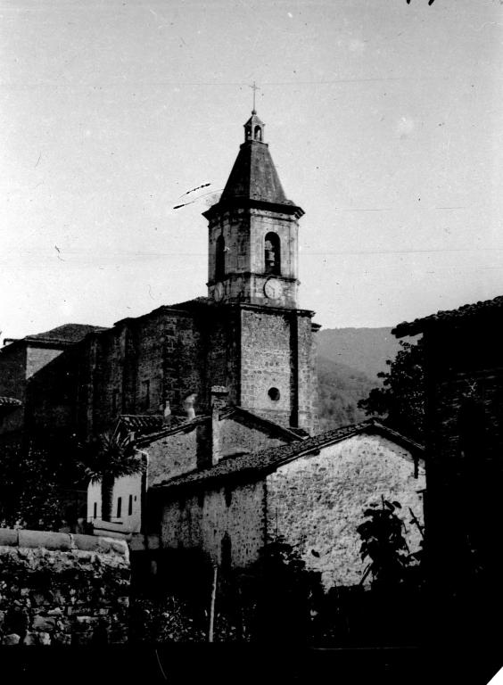 """""""Anzuola. La antigua Torre del la Iglesia Parroquial"""""""
