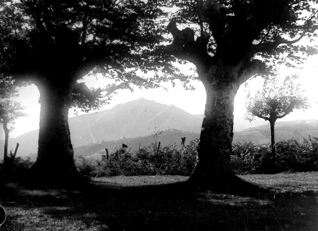 Vista del monte Kurtzebarri