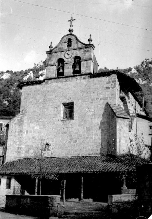 """Guesalibar. La Iglesia de Guesalibar (Mondragon) (Sta Agueda)"""