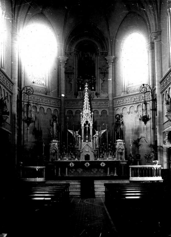 Altar mayor de Santa Agueda