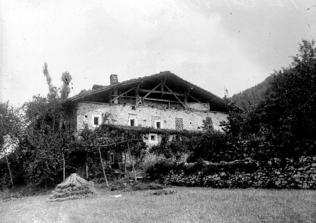 Azpeitia. Enparan Gain baserria (Euskal Herriko baserri tipikoa).