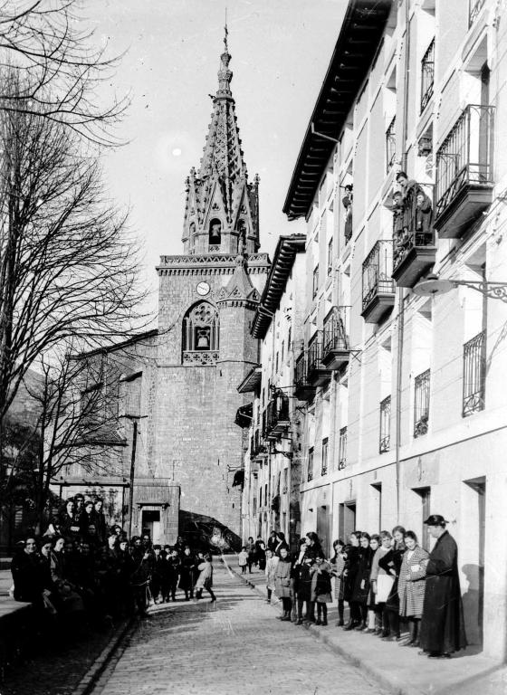 """""""Azpeitia. Calle de Santiago"""""""