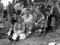 Grupo de montañeros el día del homenaje