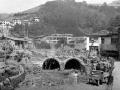 """""""Eibar. Reconstrucción de Eibar. Cubrimiento del río Ego hoy calle Dos de Mayo"""""""