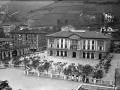 """""""Eibar. Plaza de Unzaga y el Ayuntamiento"""""""