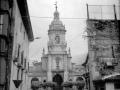 """""""Elgoibar. Torre de la Iglesia Parroquial y el Ayuntamiento"""""""