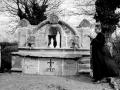 Inauguración de la gruta de la virgen de Lourdes en Apotzaga